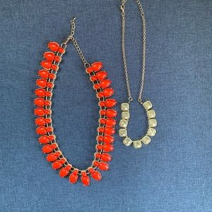 😘Fashion Necklaces Coral Color Beads